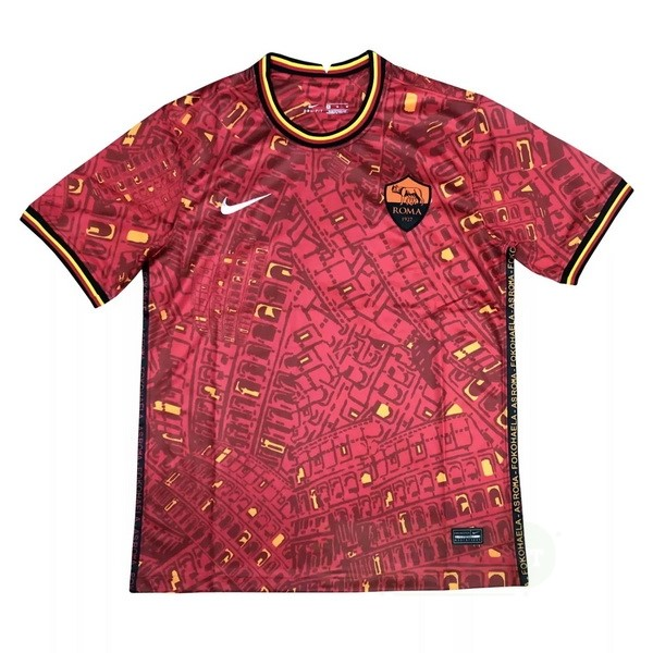 Vente Nike Entrainement AS Roma 2020 2021 Rouge
