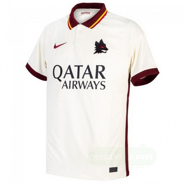 Vente Nike Exterieur Maillot As Roma 2020 2021 Blanc