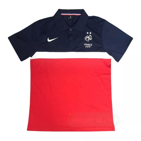 Vente Nike Polo France 2020 Bleu Rouge
