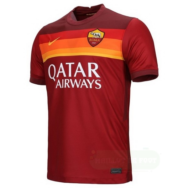 Vente Nike Thailande Domicile Maillot As Roma 2020 2021 Rouge