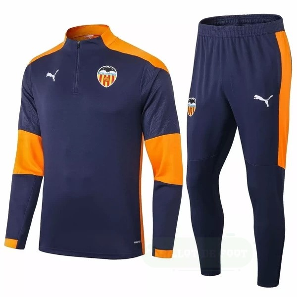 Vente PUMA Survêtements Valencia 2020 2021 Bleu Orange