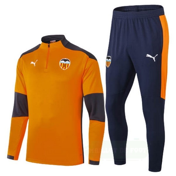 Vente PUMA Survêtements Valencia 2020 2021 Orange