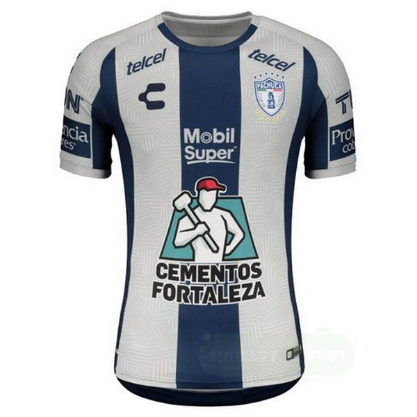 Vente Tenis Charly Domicile Maillot Pachuca 2020 2021 Bleu Blanc