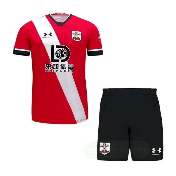 Vente Under Armour Domicile Conjunto De Enfant Sunderland 2020 2021 Blanc Rouge