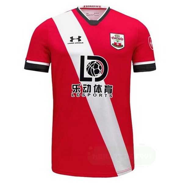 Vente Under Armour Domicile Maillot Southampton 2020 2021 Rouge Blanc