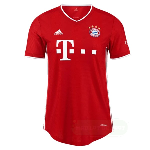 Vente adidas Domicile Maillot Femme Bayern Munich 2020 2021 Rouge