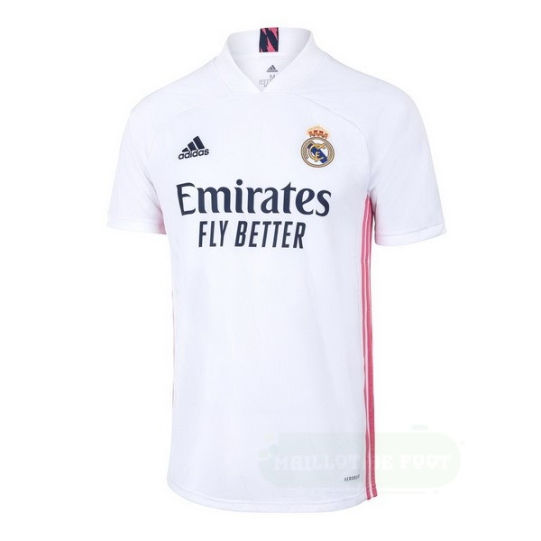 Vente adidas Domicile Maillot Real Madrid 2020 2021 Blanc