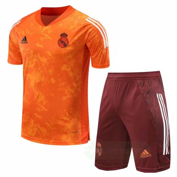 Vente adidas Entrainement Conjunto Completo Real Madrid 2020 2021 Orange