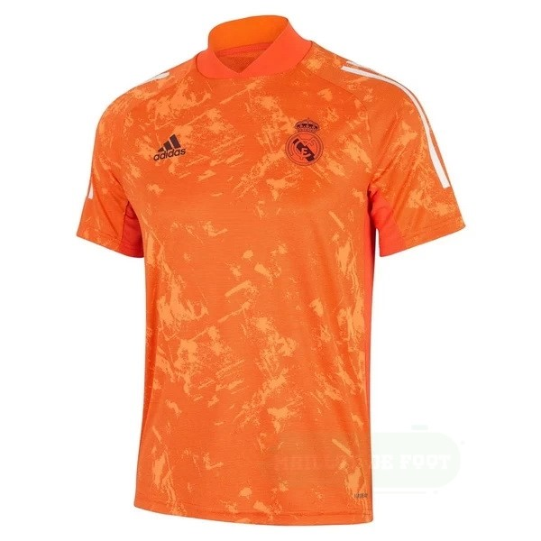 Vente adidas Entrainement Real Madrid 2020 2021 Orange