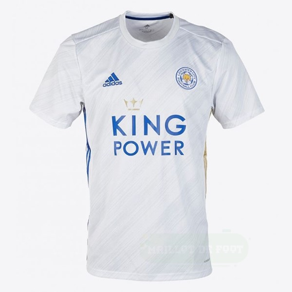 Vente adidas Exterieur Maillot Leicester City 2020 2021 Blanc