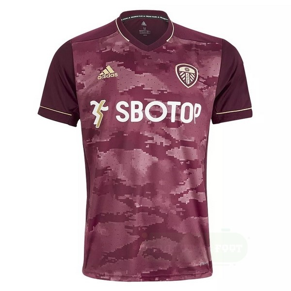 Vente adidas Third Maillot Leeds United 2020 2021 Rouge