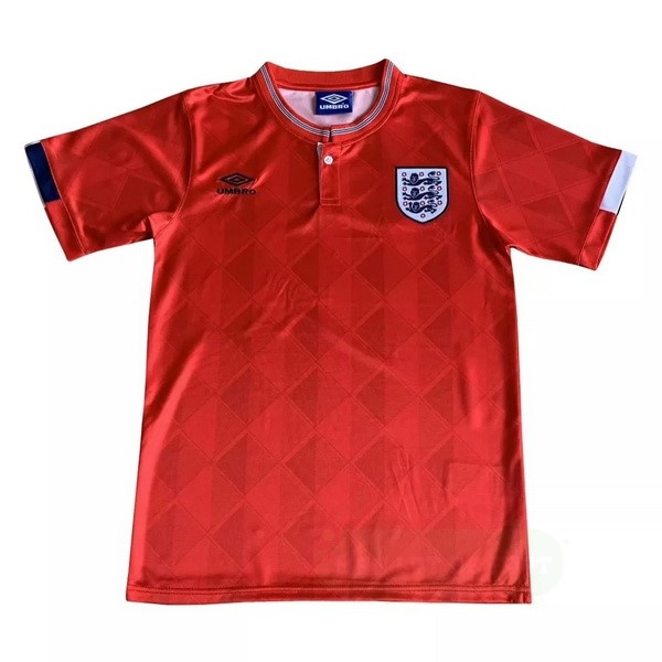 Vente umbro Exterieur Maillot Angleterre Retro 1989 Rouge