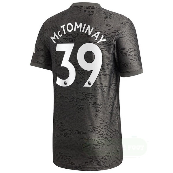 Vente adidas NO.39 McTominay Exterieur Maillot Manchester United 2020 2021 Noir