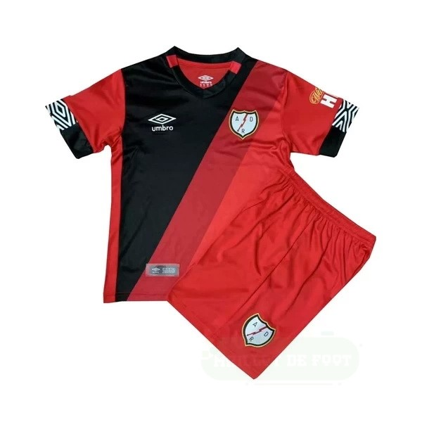 Vente umbro Third Conjunto De Enfant Rayo Vallecano 2020 2021 Rouge