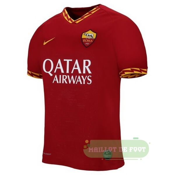 Vente Nike Thailande Domicile Maillot As Roma 2019 2020 Rouge