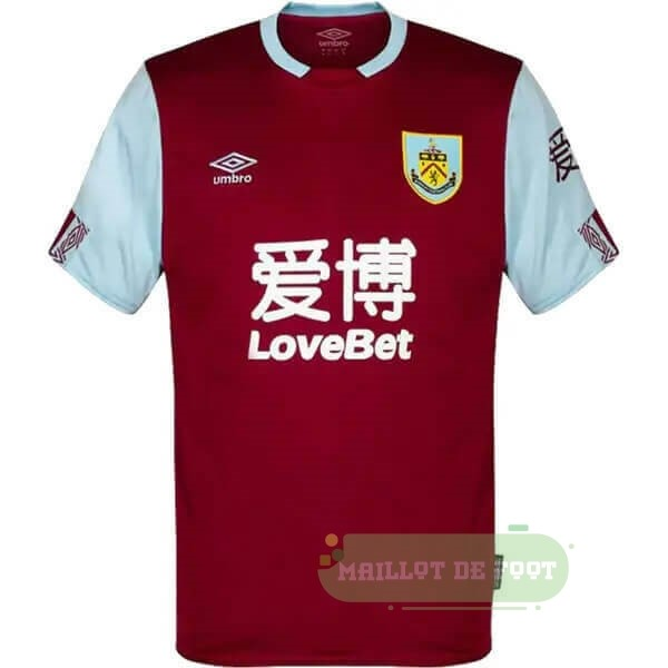 Vente umbro Domicile Maillot Burnley 2019 2020 Rouge