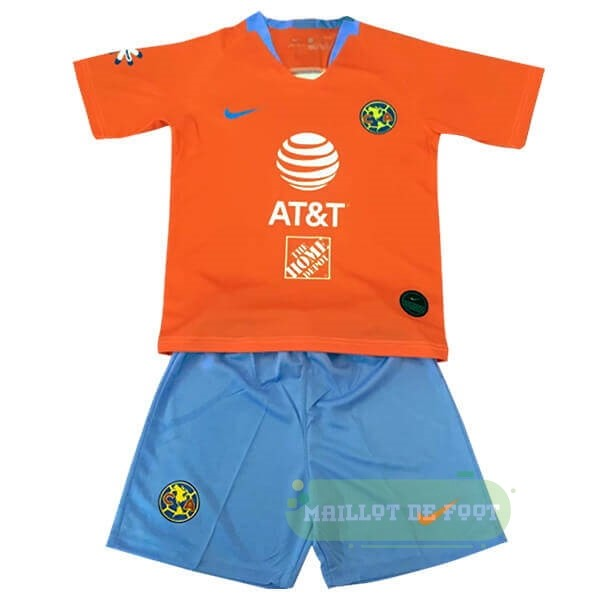 Vente Nike Third Ensemble Enfant Club América 2019 2020 Orange
