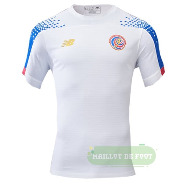 Vente New Balance Exterieur Maillot Costa Rica 2019 Blanc