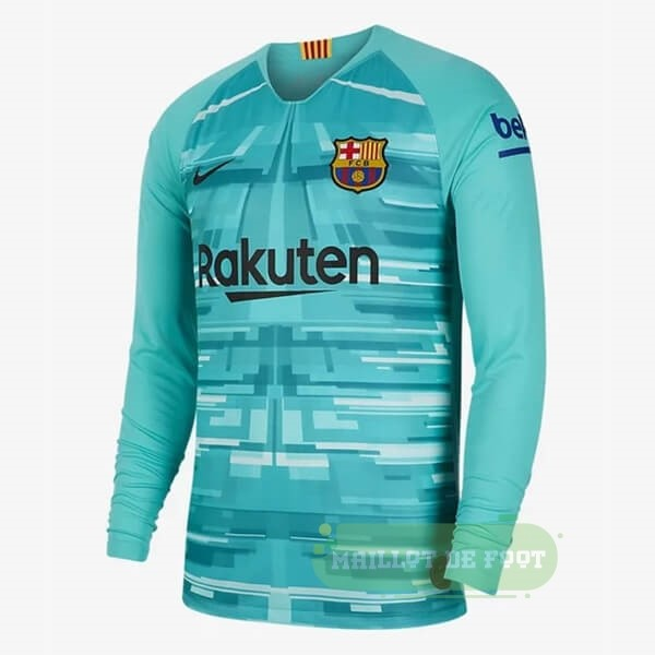 Vente Nike Maillot Gardien Manches Longues Barcelona 2019 2020 Vert