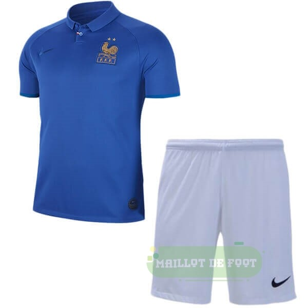 Vente Nike Ensemble Enfant France 100th Bleu