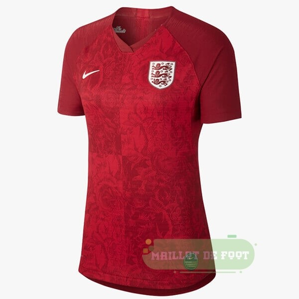Vente Nike Exterieur Maillot Femme Angleterre 2019 Rouge