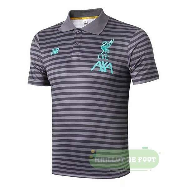 Vente New Balance Polo Liverpool 2019 2020 Gris