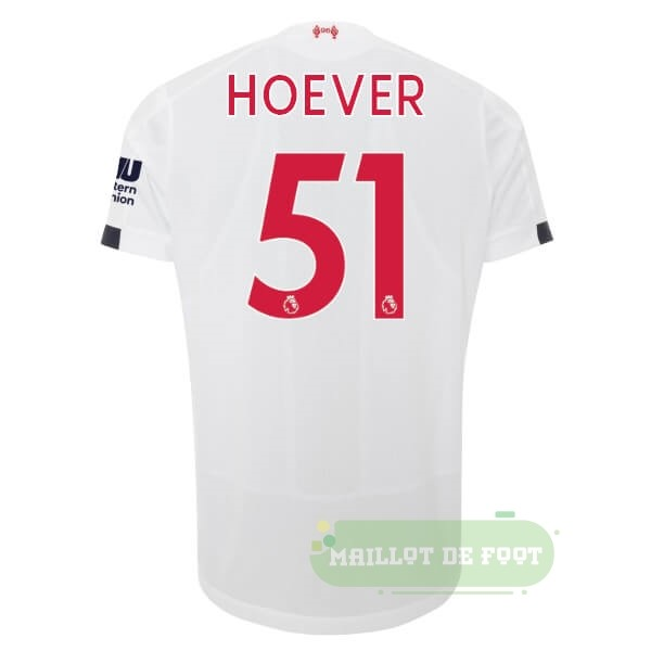Vente New Balance NO.51 Hoever Exterieur Maillot Liverpool 2019 2020 Blanc