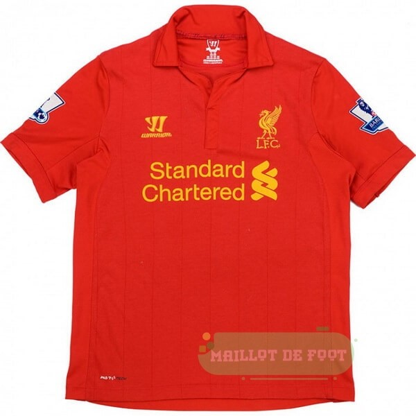 Vente Warrior Domicile Maillot Liverpool Retro 2012 2013 Rouge