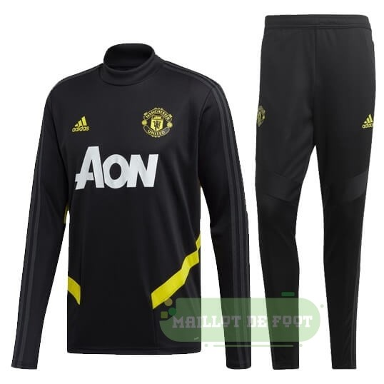 Vente adidas Survêtements Manchester United 2019 2020 Or Noir