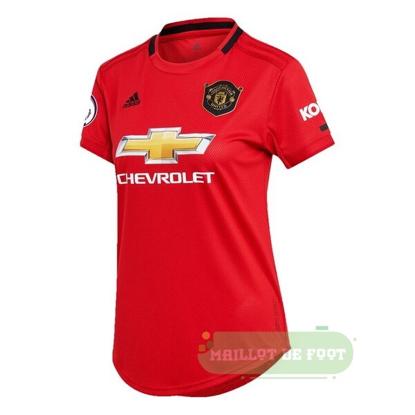 Vente adidas Domicile Maillot Femme Manchester United 2019 2020 Rouge