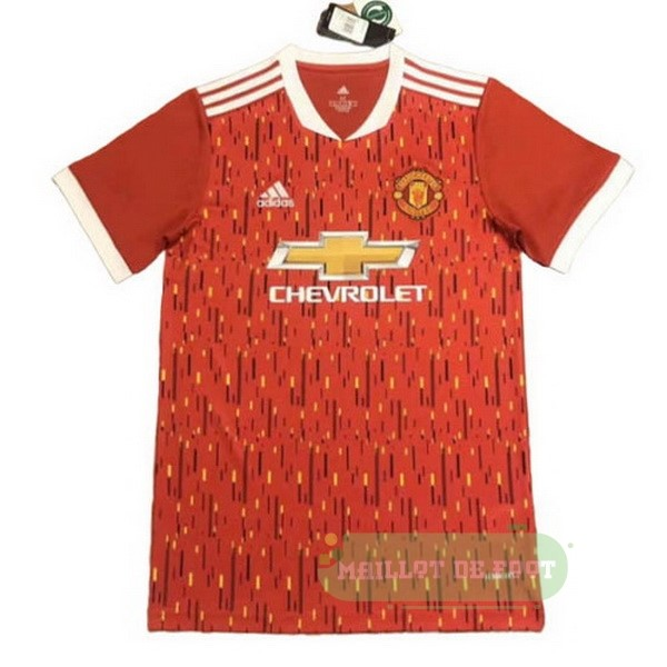 Vente adidas Concept Domicile Maillot Manchester United 2020 2021 Rouge