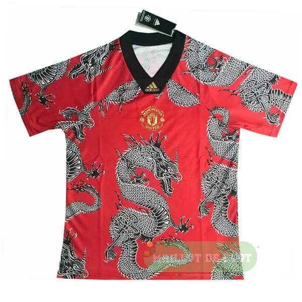 Vente adidas Spécial Maillot Manchester United 2019 2020 Rouge