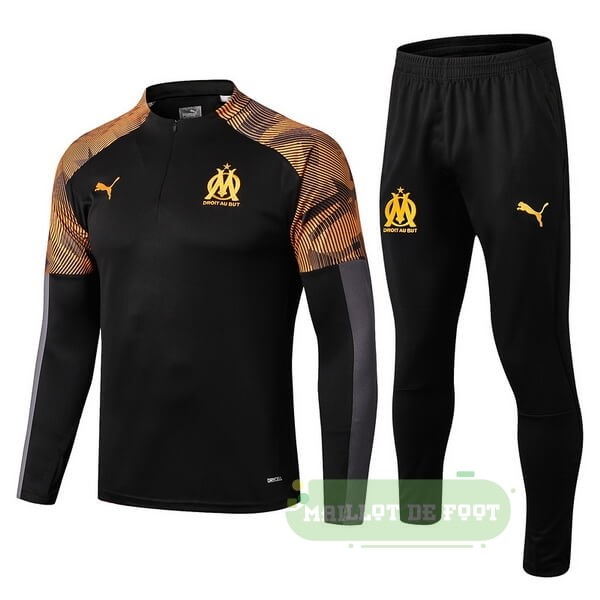 Vente PUMA Survêtements Marseille 2019 2020 Orange Noir