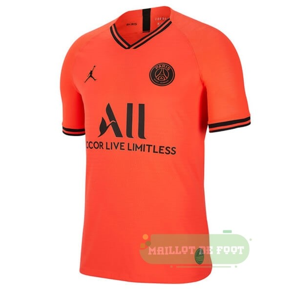 Vente JORDAN Thailande Exterieur Paris Saint Germain 2019 2020 Orange