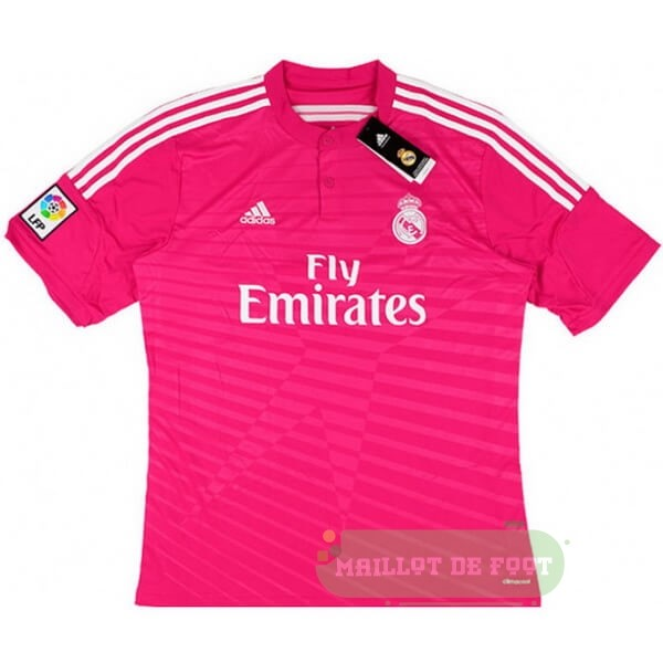 Vente adidas Exterieur Maillot Real Madrid Retro 2014 2015 Rose