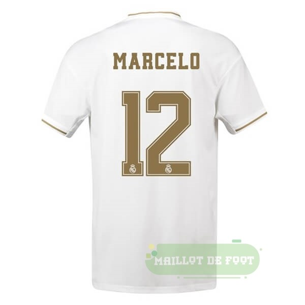 Vente adidas NO.12 Marcelo Domicile Maillot Real Madrid 2019 2020 Blanc
