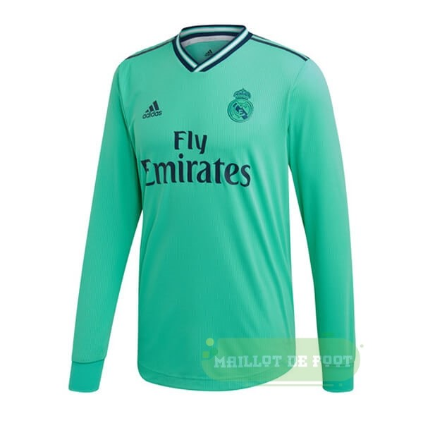 Vente adidas Third Manches Longues Real Madrid 2019 2020 Vert