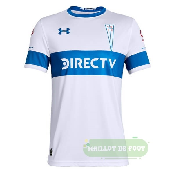 Vente Under Armour Domicile Maillot CD Universidad Católica 2019 2020 Blanc