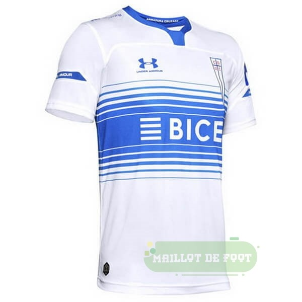 Vente Under Armour Domicile Maillot CD Universidad Católica 2020 2021 Blanc