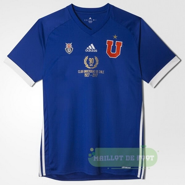 Vente adidas Domicile 90th Maillot Universidad De Chili 1927 2017 Bleu